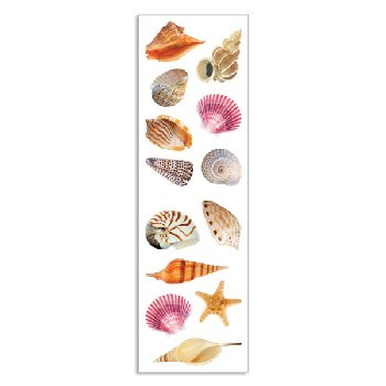 Sea Shells Stickers (3 sheets)