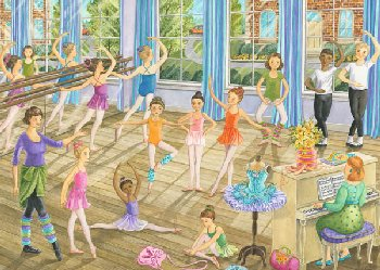Ballet Lesson Puzzle (35 pieces)