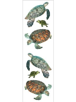 Turtle Stickers (3 sheets)