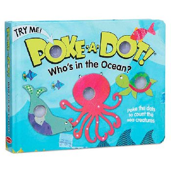 Poke-A-Dot Who's in the Ocean