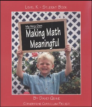 Making Math Meaningful K Student Workbook