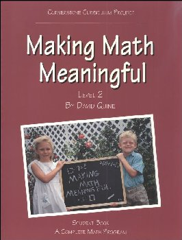 Making Math Meaningful 2 Student Workbook