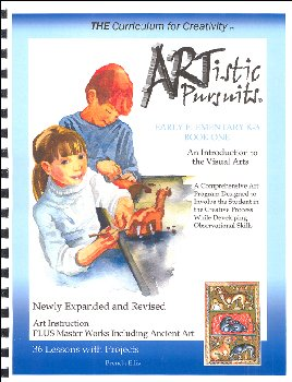 ARTistic Pursuits Early Elementary K-3 Book One 3rd ed - Introduction to Visual Arts