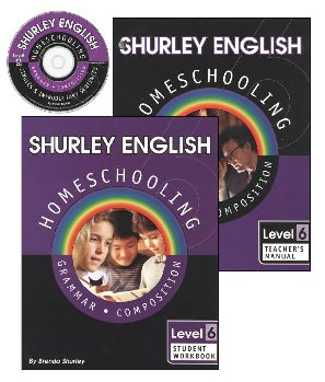 Shurley English Homeschool Kit Level 6