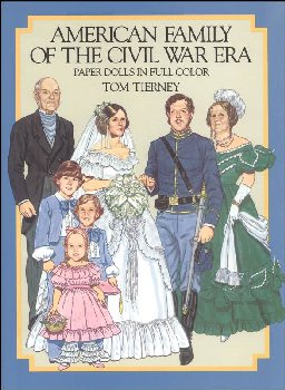 American Family of the Civil War Era Paper Dolls