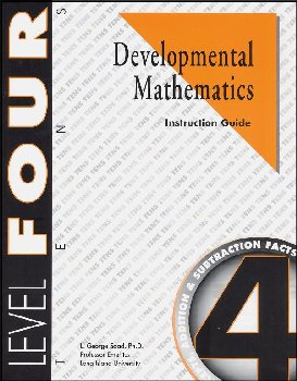 Developmental Math Level 4 Instruction Guide