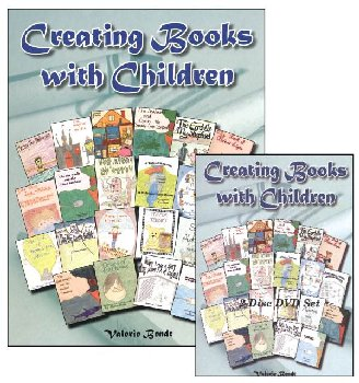 Creating Books With Children - CD Book & 2-DVD Set