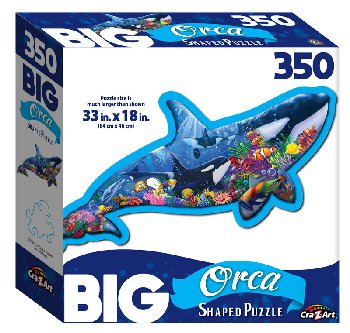 Orca Dreams Jigsaw Puzzle (350 piece)