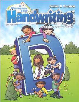 Reason for Handwriting D Student Workbook