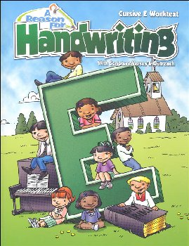 Reason for Handwriting E Student Workbook