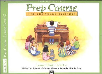 Alfred's Prep Course Level C Lesson Book