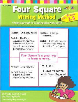 Four Square Writing Method Grades 1-3