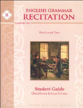 English Grammar Recitation Workbook II Student Book