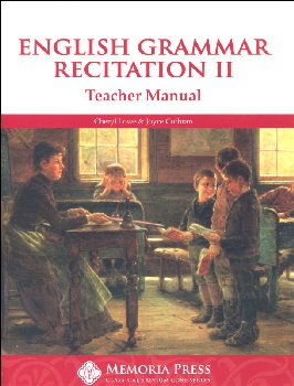 English Grammar Recitation Workbook II Teacher Guide