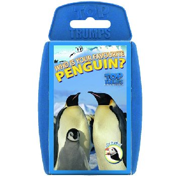 Top Trumps Card Game - Penguins