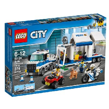 LEGO City Police Mobile Command Center (60139)