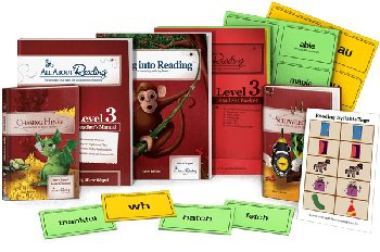 All About Reading Level 3 Materials Color Edition