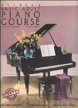 Alfred's Adult Piano Course Level 1 Lesson Book