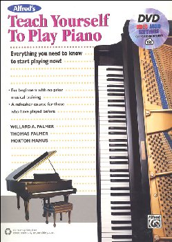Teach Yourself to Play Piano Book, DVD & Online Access