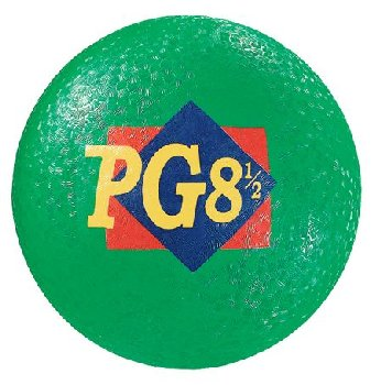 Green Playground Ball