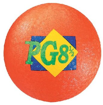 Orange Playground Ball