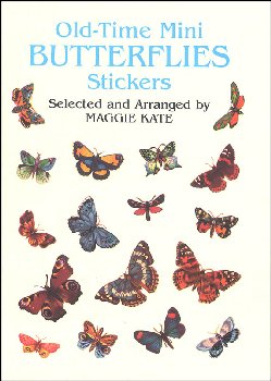 Old-Time Mini Butterflies Stickers