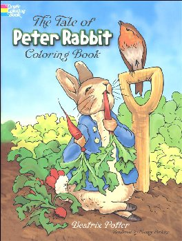 Tale of Peter Rabbit Coloring Book