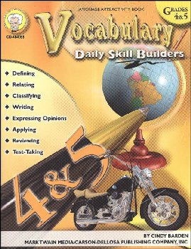 Vocabulary Grades 4-5 Daily Skill Builders