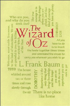 Wizard of Oz (Word Cloud Classics)