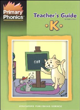 Primary Phonics Teacher's Guide K (Cons T/M)