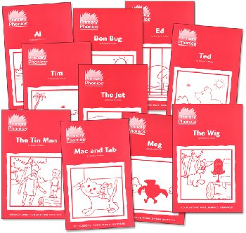 Primary Phonics 1 Set of 10 Storybooks