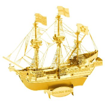 Golden Hind Ship Kit (Metal Earth 3D Classic Model)
