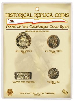 California Gold Rush Coin Set