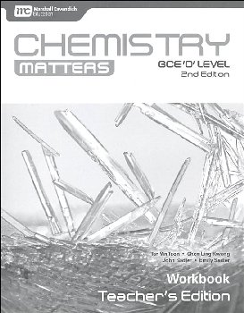 Chemistry Matters Workbook Teacher's Edition