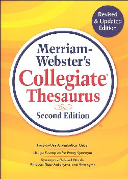 Merriam-Webster's Collegiate Thesaurus 2ED