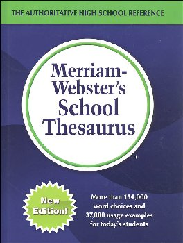 Merriam-Webster's School Thesaurus