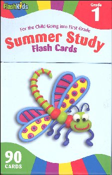 Summer Study Flash Cards Grade 1 (Flash Kids)