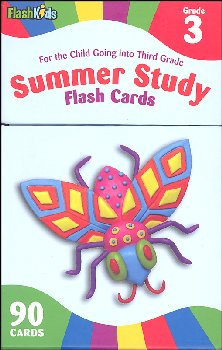 Summer Study Flash Cards Grade 3 (Flash Kids)