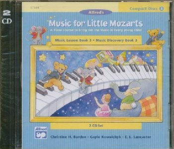 Music for Little Mozarts CDs for Book 3