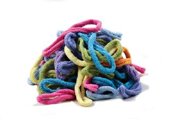 Traditional Pastel Loops (5 lb. Bag)