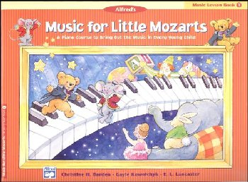 Music for Little Mozarts Music Lesson Book 1