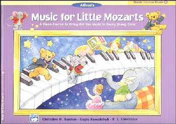 Music for Little Mozarts Music Lesson Book 4