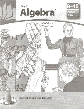 Key to Algebra Answers & Notes Books 8-10