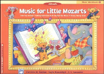 Music for Little Mozarts Music Workbook 1