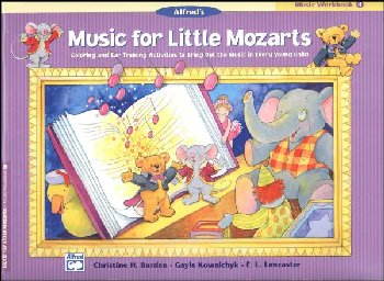 Music for Little Mozarts Music Workbook 4