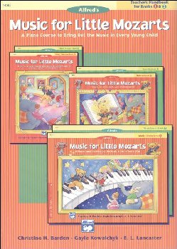 Music for Little Mozarts Teacher Handbk 1-2