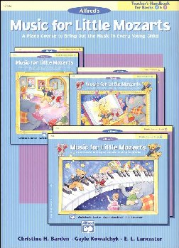 Music for Little Mozarts Teacher Handbk 3-4
