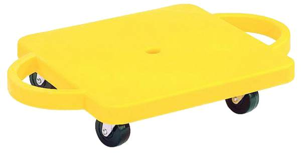 Scooter Board w/ Handles (Yellow)