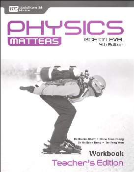 Physics Matters Workbook Teacher's Edition