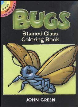 Bugs Little Stained Glass Coloring Book